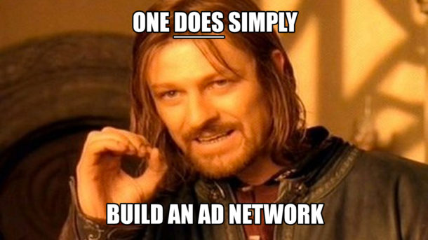 build an ad network