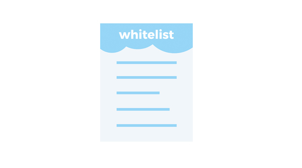 whitelists digital ads